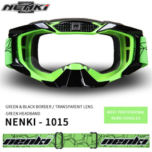 NENKI Motocross Goggles Off-Road ATV Dirt Bike MX DH Motorcycle Racing Glasses Ski Snowboard Goggles Eyewear Replaceable Lens(China)