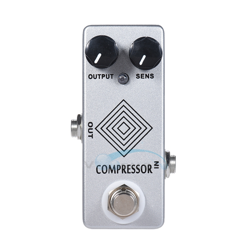 Mosky Dynamic Compressor Mini Single Guitar Effect Pedal with High Quality Full Metal Shell True Bypass<br>