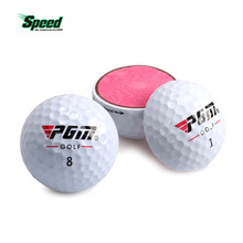 2017 New Hot Sale Original PGM Golf Ball Three-layer Match Ball Gift Box Package Golf Ball Set 12pcs Set 3pcs Set Game Use Ball(China)