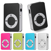 2017 New Arrivals Mini USB MP3 Music Media Player LCD Screen Support 16GB Micro SD TF Card Free Shipping&Wholesales NOA28