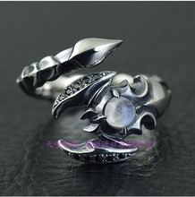 Thailand import scorpion modelling opening 925 sterling silver ring
