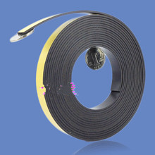 1pcs 1M Magnetic Stripe 10*2MM Rubber Magnets Paste Sided Adhesive Can Cut All Kinds Of Shapes DIY Magnetic Tape For School Home