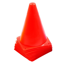 10Pcs 7 Inch 10 inch 7 inchMultipurpose Sport Football Training Traffic Cones Activity Cones for Kid and Adult