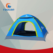 Mountaintop Waterproof 3 Season Tents for Camping 2 Person Camping Tent Polyester Fabric Single-layer Outdoor Tent