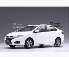 New HONDA CITY 2015 1:18 car model alloy metal diecast original gift collection kids toy Good workmanship Japan