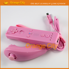 7 colors to choose Remote and Nunchuck Controller with Hand Strap for Wii