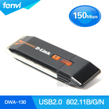 D-Link DWA-130 Wireless-N 150Mbps USB Wlan Adapter Network Lan adapter RTL8191SU USB 802.11b/g/n Wireless wifi dongle