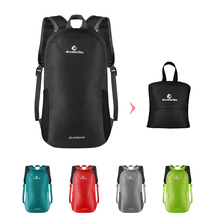 ANMEILU 15L Foldable Backpack Waterproof Climbing Rucksack Backpack Outdoor Bag Cycling Backpack Travel Hiking Bag Stuff Sack(China)