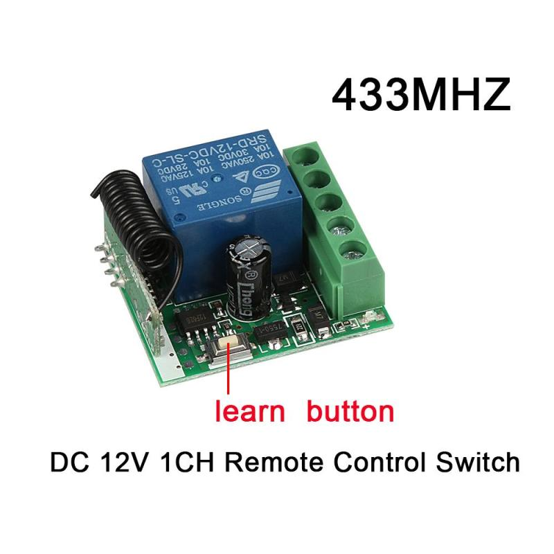 QIACHIP-DC-12V-1CH-433MHz-RF-Wireless-Remote-Control-Switch-Relay-RF-Receiver-Module-For-433MHz (1)