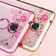 Buy Flower Bling Huawei Honor 6A Case Slicone Glitter Diamond Clear Back Phone Cover Honor A6 DLI-L22 Huawei Case Soft TPU for $2.16 in AliExpress store