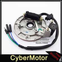 Magneto Stator Without Light For Chinese YX 140cc Pit Dirt Bike Motocross PitsterPro Stomp Thumpstar SDG Apollo(China)