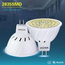 Led Spotlight MR16 LED Lamp AC 220V 4W 6W 8W Led Bulb Lights AC / DC 12V 24V GU5.3 mr 16 SMD 2835 White/Warm White Home Lighting