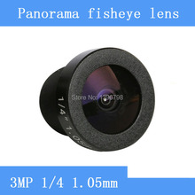 185 degrees wide-angle CCTV Lens 3MP 1/4 HD 360 panoramic fisheye lens surveillance camera Video Cam