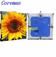 Coreman full color P6 P8 P10 indoor led advertising display rental cabinet video led screen outdoor led wall p4 p5 p6 p8 HD(China)