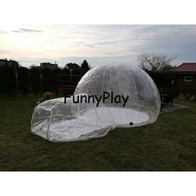 Outdoor Inflatable Camping Bubble Tent,Inflatable Lawn Dome Transparent Tents,air emergency tents,inflatable sealed tent shelter(China)