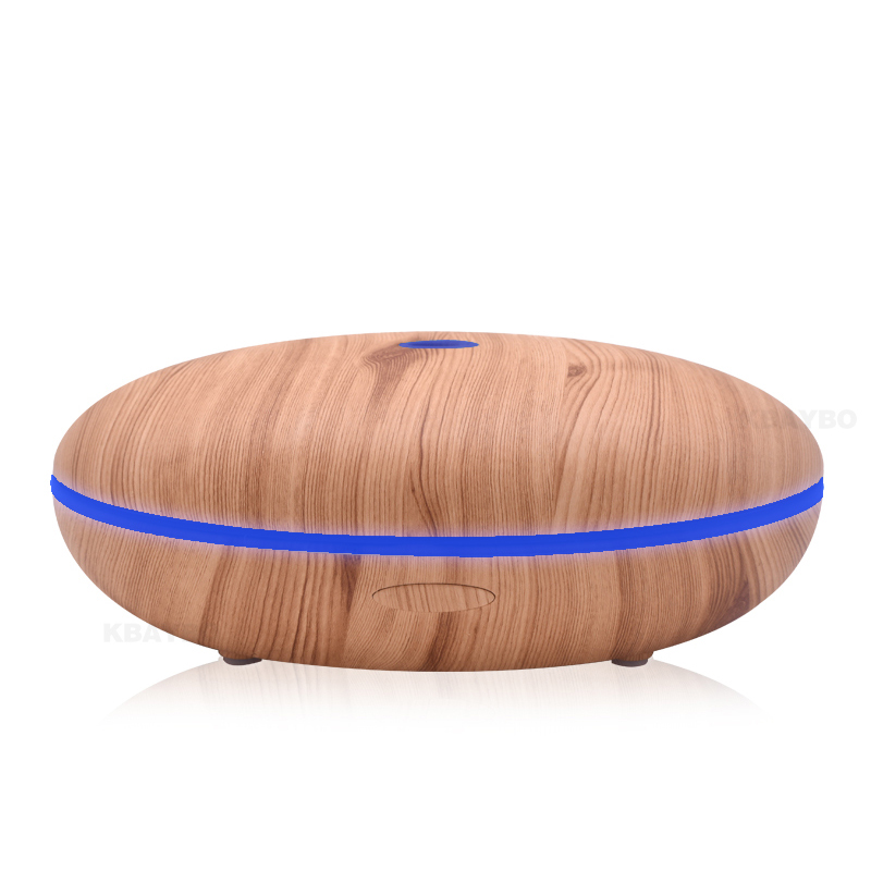 Essential Oil Diffuser 500ml Aroma Diffuser Aromatherapy Wood Grain Ultrasonic Cool Mist Humidifier for Office Home<br>