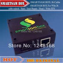 gsmjustoncct The Newest  version Smart Sam box with 26 pcs Cables For Samsung Unlocking&Repair&Flash Phone