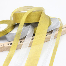 25Yards Long Silk Satin Ribbon Party Home Wedding Decoration Gift Wrapping Christmas New Year DIY Material 6-50MM Wide optional