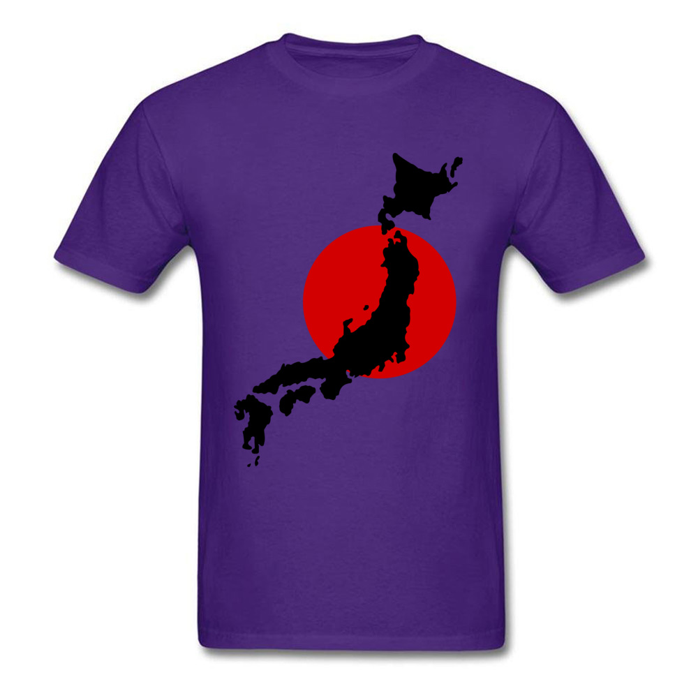Japan Graphic Normal Summer Cotton Round Neck Men Tops Tees Birthday T Shirts On Sale Short Sleeve Tshirts Drop Shipping Japan Graphic purple