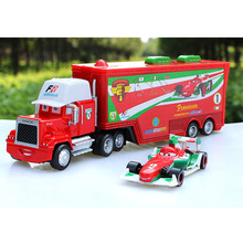3 Types Including 2 Cars Pixar Car No.86 Chick Hicks No.43 Race Team Francesco Bernoulli Truck Diecast Toy Come With Opp Bags