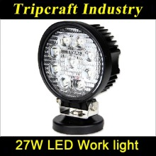 "LED Work Light 4"" Inch 27W 12V 24V Spot Flood Lamp for Motorcycle Tractor Truck Trailer SUV Off roads Boat 4WD 4x4 20pcs/lot"