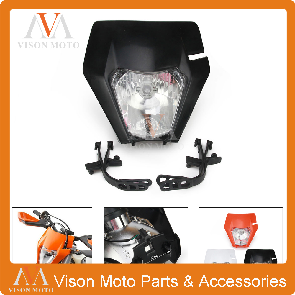 Head-Lamp Motorcycle-Headlight Ktm Exc Universal for SX XCF Xcw-Smr 125/150/250/.. title=