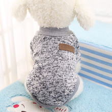 2017 NEW Classic Printed Pet Costume Hoodie Autumn and Winter Dog Cat Clothes Brand Small Dog Coat for Cats Chihuahua A(China)