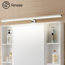 Fensalir 8W LED Sconces Wall Lamps Long 600mm Waterproof Bathroom Wall Fixture Modern Lightly Lighting Luminaires ML002-600P(China)