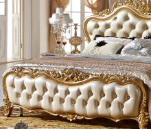 Luxury Bedroom Furniture Set 319(China)