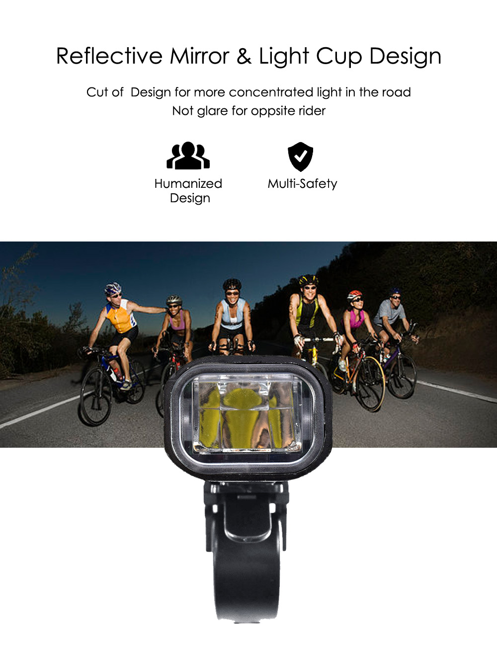 Details about  /MTB Bike Bicycle Headlight Front Lamp Waterproof Cycling Satty lamp Super Bright