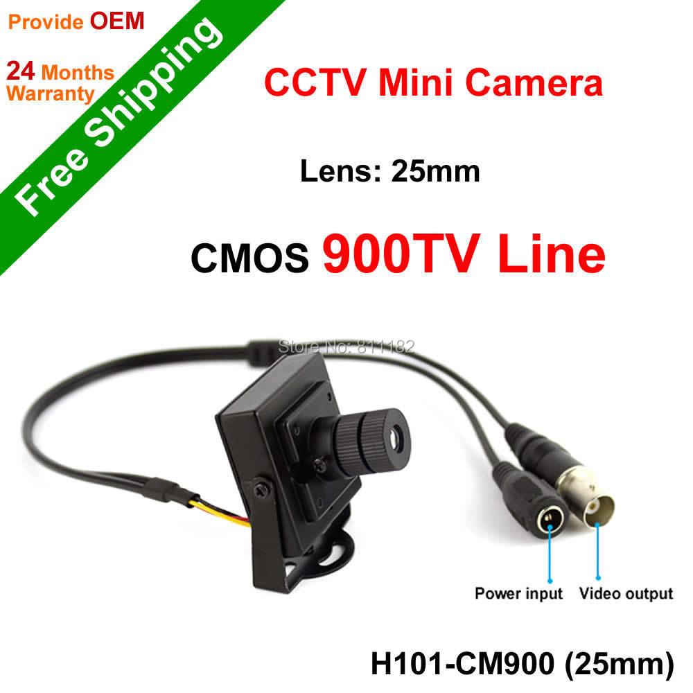 Free Shipping NGtechnic CCTV Camera 960H CMOS 900TVL Super Mini CCTV Surveillance 25mm Lens Camera<br><br>Aliexpress