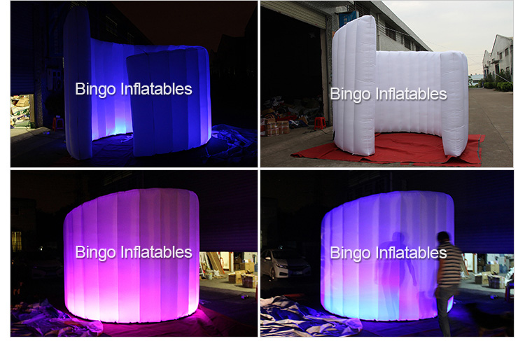 inflatable wall with led lighting for events (3)