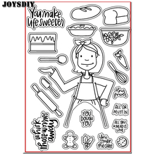 YOU MAKE LIFE SWEETEST YOU Scrapbook DIY photo cards account rubber stamp clear stamp transparent stamp Handmade card stamp(China)