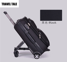 "TRAVE TALE 20""24""28 Trolley luggage trolley travel companion auxiliary wheels customs tsa lock(China)"