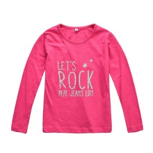 2015 girl clothes children clothing kids t-shirt family clothing kids  t shirts girls tops long sleeve top cheap WJTS007