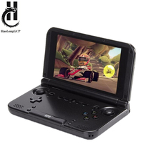 Best 5 inch Android game console IPS touch screen support wifi portable game player for ps1 ps2 arcade neogeo for snes n64 games(China)