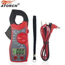 ATORCH Electronic Multimeter Digital Clamp Meter DC AC Voltage Current Tongs Resistance Amp Ohm Tester Medidor Multimetre Tools