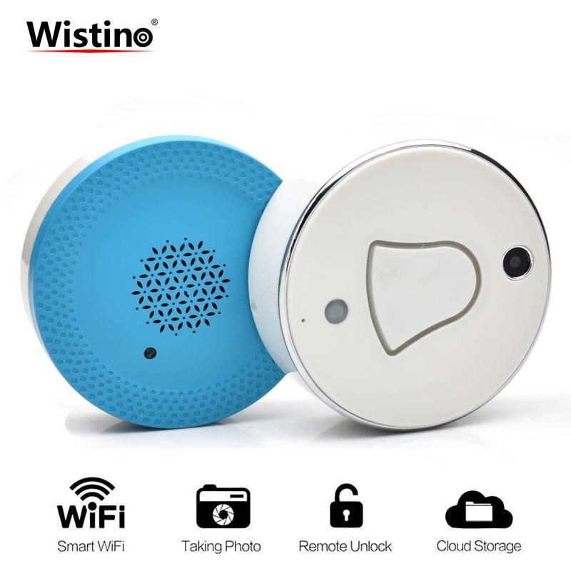 New Smart Home Wifi Video Doorbell Plug-in Type Wireless Doorbell Waterproof Intercom DoorBell Kits EUplug Outdoor Door BellsHD <br>