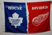 Toronto Maple Leafs Detroit Red Wings  House Divided Flag hot sell goods 3X5FT 150X90CM Banner brass metal holes TH01