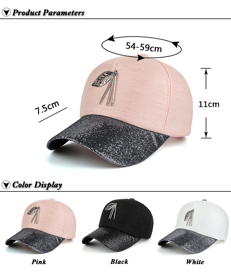 Dangling Leaf Snapback Cap - Product Parameters and Available Colors