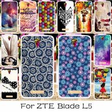 AKABEILA Silicon Mobile Phone Case For ZTE BLADE L5 Case ZTE BLADE L5 Plus Cover Angel Girls Shell For ZTE L5 Plus Case(China)