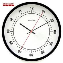 Geekcook Flight II Wall Clock Modern Design Living Room/Bedroom Mute Wall Watch Home Decor Digital Clock Wall Fashion Clocks(China)