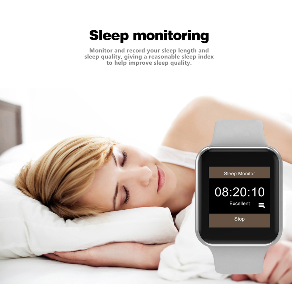 SHAOLIN Bluetooth Smart Watch Heart Rate Monitor Smartwatch Wearable Devices for apple watch iPhone IOS and Android Smartphones-10