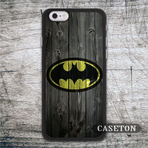 Batman On Wood font b Case b font For font b iPhone b font 7 6