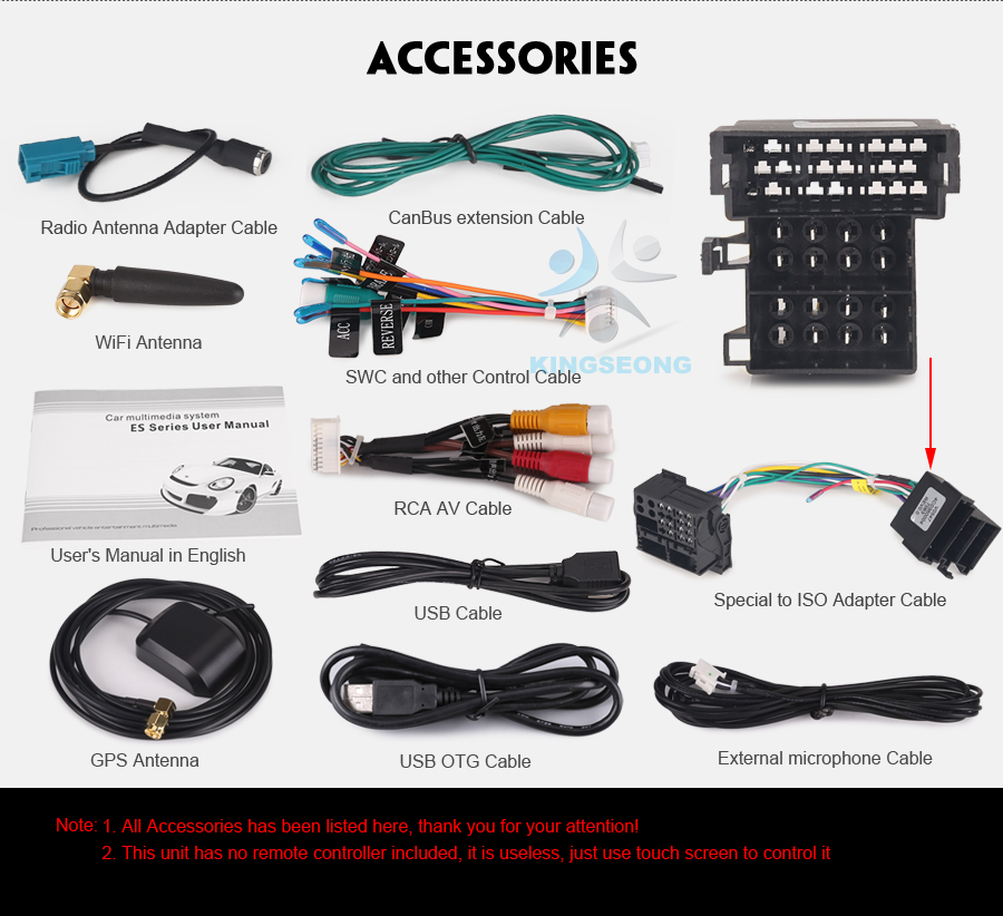 ES7821B-E25-Accessories