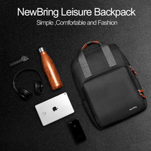 New-Bring Casual Laptop Backpack Men(China)