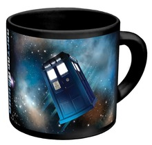 Hot Sale Doctor Dr.Who Heat Reveal Mug Color Change Coffee Cup Sensitive Ceramic Chameleon Magical Mug Novelty Gifts 1pc