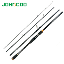 2.1 2.4 2.7m Lure Rod 4 Section Carbon Spinning Fishing Rod Travel Rod Casting Fishing Pole Vava De Pesca Saltwater Rod(China)