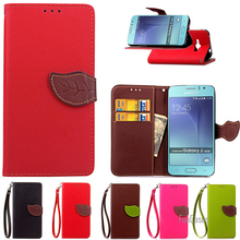 Wallet Leather Case For Samsung Galaxy J1 Ace J110 Phone Bag Coque Stand Luxury Flip Cover For Samsung J1 Ace Phone Back Cover ,(China)