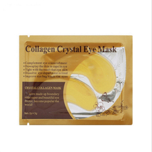 10pcs Hot sale Gold Crystal collagen Eye Mask eye patches skin care 10pcs=5 pack